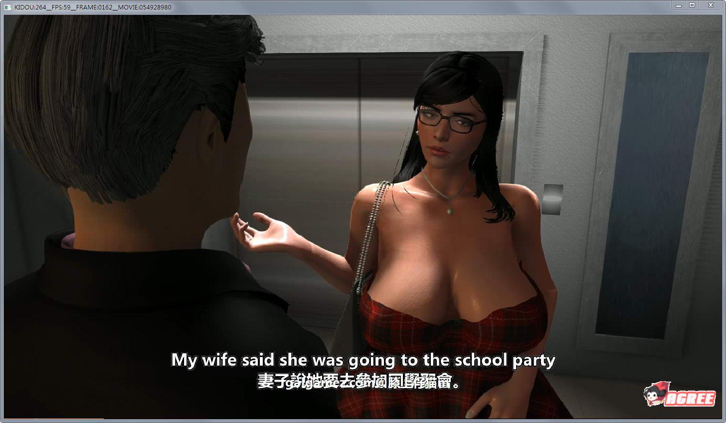 【母系3D/中文/全动态】赌局:被胁迫快感淹没的人妻!中文版+前作+6G动画全集【6.4G】 7