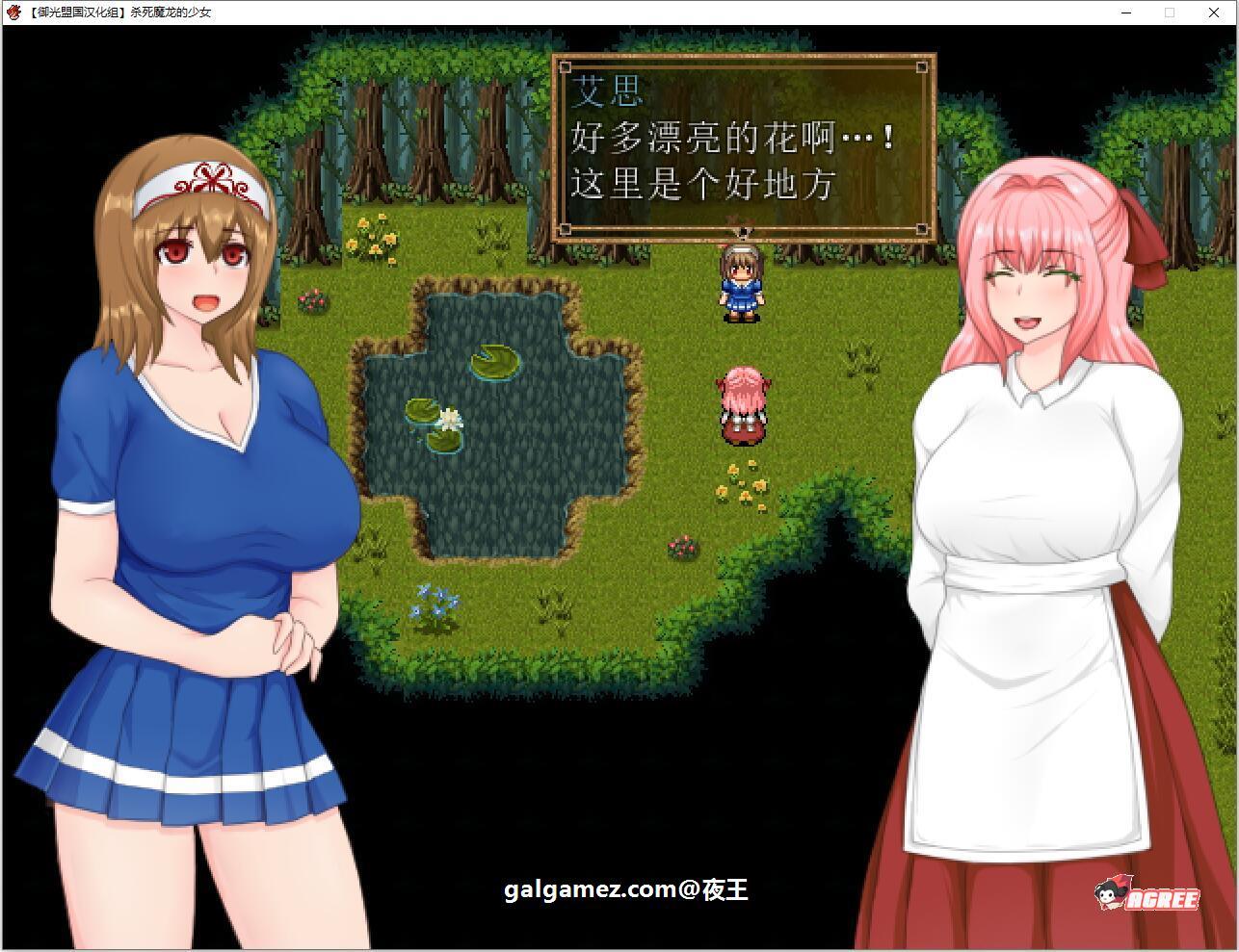 【RPG/汉化】杀死魔龙的少女 精翻汉化完结版+CG【新汉化/全CV/500M】